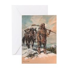 William L. Sublette painting Greeting Card