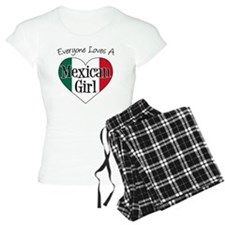 Everyone Loves Mexican Girl Pajamas