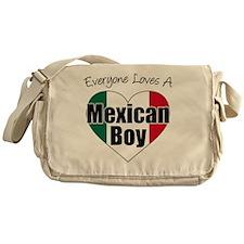 Everyone Loves Mexican Boy Messenger Bag