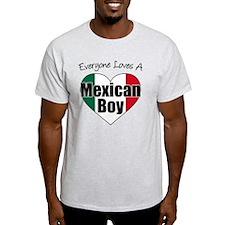 Everyone Loves Mexican Boy T-Shirt