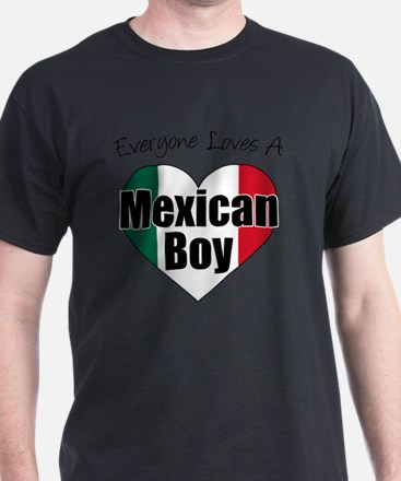 Everyone Loves Mexican Boy T-Shirt