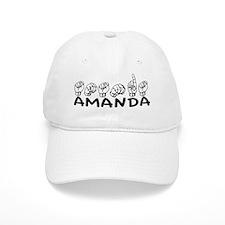 ASL Amanda Baseball Cap