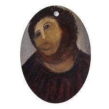 Ecce Homo Redux Oval Ornament