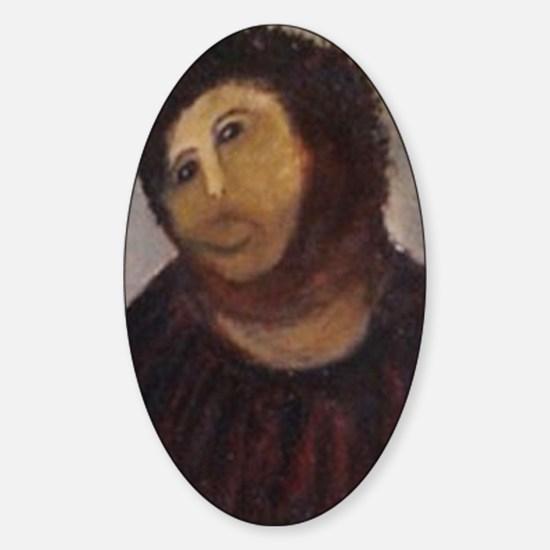 Ecce Homo Redux Sticker (Oval)