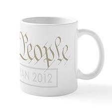 We The People Romney Ryan 2012 Mug