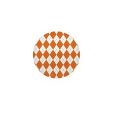 Clemson Argyle Sock Pattern South Caro Mini Button