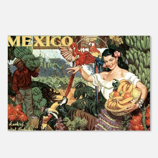 Vintage Mexico Postcards (Package of 8)
