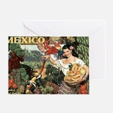 Vintage Mexico Greeting Card
