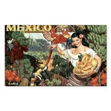 Vintage Mexico Decal