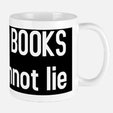I like big BOOKS(BS-W) Mug