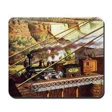 Vintage Train Mousepad