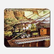 Vintage Train Mousepad