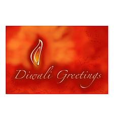 Diwali Devali Light Greet Postcards (Package of 8)