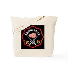 Black on Black Shorin-Ryu Logo Tote Bag