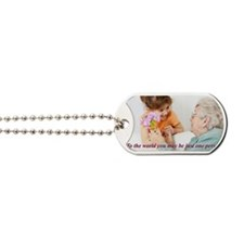Be the World Dog Tags