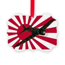 Zero Fighter Aircraft Ornament