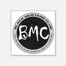 "BMC Brand Logo Square Sticker 3"" x 3"""