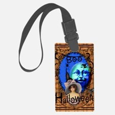 Halloween Witch Color Luggage Tag