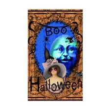 Halloween Witch Color Decal