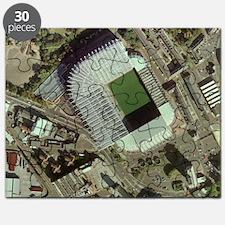 Newcastle United's St James' Park Stadium Puzzle