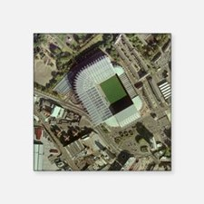 "Newcastle United's St James Square Sticker 3"" x 3"""