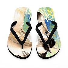 Spring Horse Flip Flops