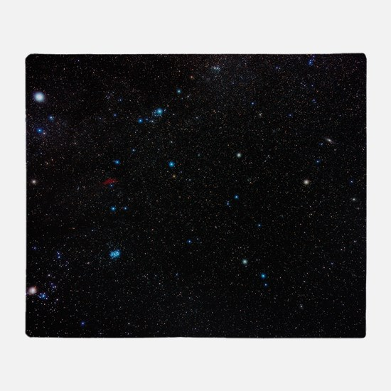 Perseus constellation Throw Blanket