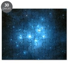 Pleiades star cluster Puzzle