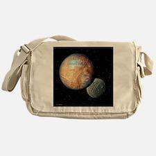 Pluto and Charon Messenger Bag