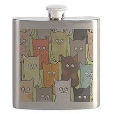 Cute Cats Flask