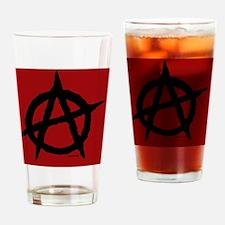 R-AnaBanner21x14 Drinking Glass
