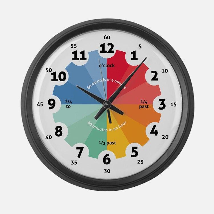 Teaching - Large Wall Clock