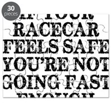 Funny Racing Saying Puzzle