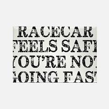 Funny Racing Saying Rectangle Magnet