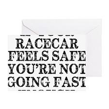 Funny Racing Saying Greeting Card