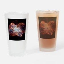 NGC 2440 planetary nebula, Hubble i Drinking Glass