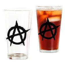 R-AnaYardsign21x14 Drinking Glass