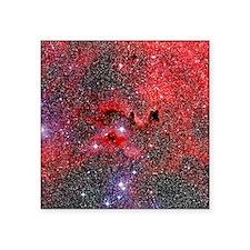 "Optical image of a dark neb Square Sticker 3"" x 3"""