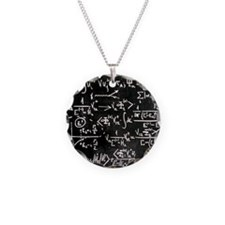 Particle physics equations Necklace
