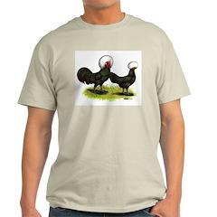 White-crested Black Polish T-Shirt