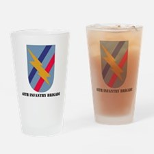 SSI - 48th Infantry Brigade  with T Drinking Glass