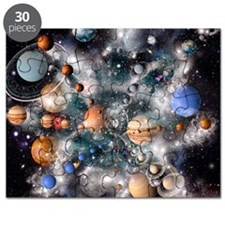 Solar system planets Puzzle