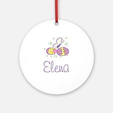 Easter Eggs - Elena Ornament (Round)