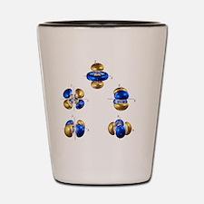 5d electron orbitals Shot Glass