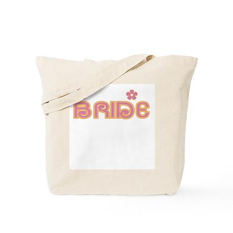 Fun Colors Bride Pink/Orange Tote Bag