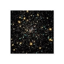 "Stars in globular cluster N Square Sticker 3"" x 3"""