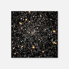 """Stars in globular cluster N Square Sticker 3"""" x 3"""""""