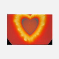 Supernova explosion Rectangle Magnet