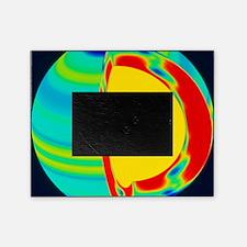 SOHO image of solar (Sun) rotation r Picture Frame