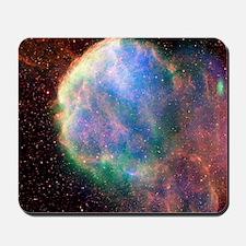 Supernova remnant IC 443, composite imag Mousepad